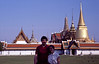 Rob and me at the Grand Palace, or Wat Phra Kaew