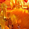 Gold Buddha In Wat Phanan Choeng Ayutthaya