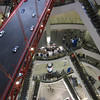 On the San Francisco Floor looking down in Terminal 21, Bangkok.<br /> Bangkok is known for it's great shopping. There are many giant shopping malls found right next to each other with new ones under construction. These malls need to compete, this theme mall is quite new.