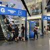 """Departure/Arrival Gates"" in Terminal 21, Bangkok."