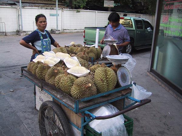 Mmmm... Durian