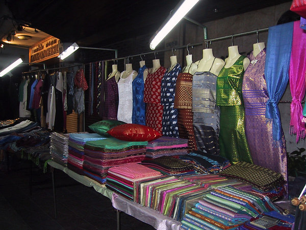 Night market clothing