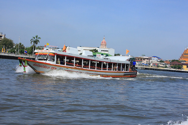 River Express Boat - Essentially our bus on the Chao Phraya