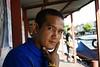 Klong boat worker
