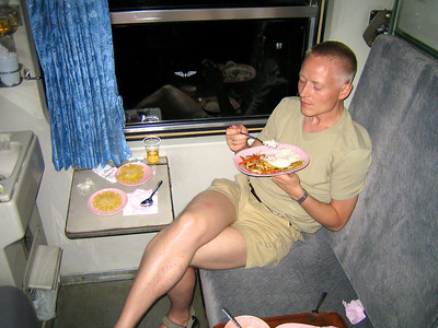 Train ride to Chiang Mai - July 2006 Søren Jessing Jespersen