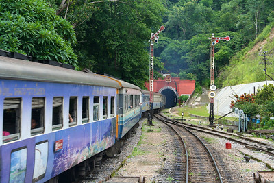 Train ride to Chiang Mai - July 2006