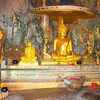 Inside Wat Tham Pra, Buddha Images Cave.