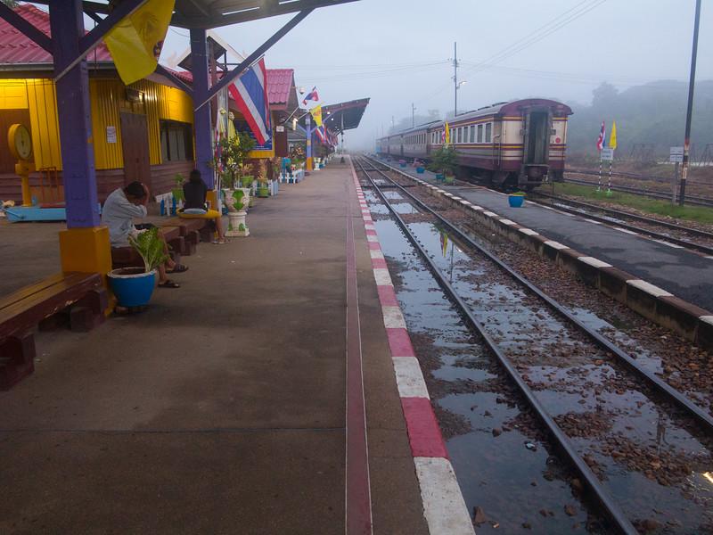 Kanchanaburi Railway Station, Thailand.