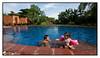 Kids in the Lagoon Pool