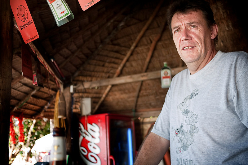 Thomas, bar owner