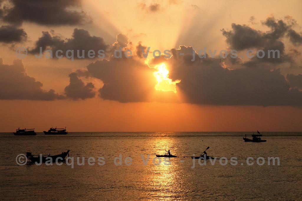 Sairee Beach Sunset - Koh Tao