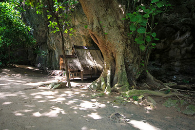 random mini hut on Koh Phi Phi Leh
