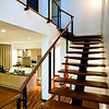 looking up the stairways to second floor which is Mikas rom plus one guest room