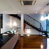 Open kitchen and stairway