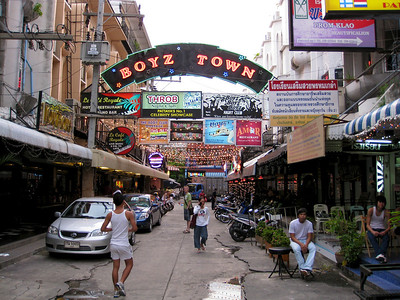 Pattaya - July 2008 Boyz Town in Pattaya
