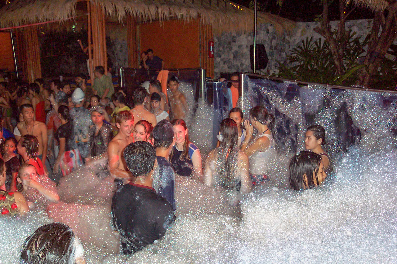 Foam Party, Hard Rock Cafe, Pattaya, Thailand