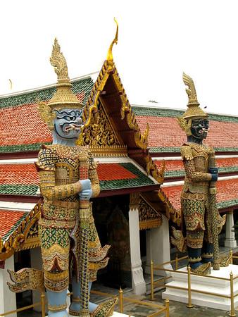 Thailand-Bangkok Palace and Wats