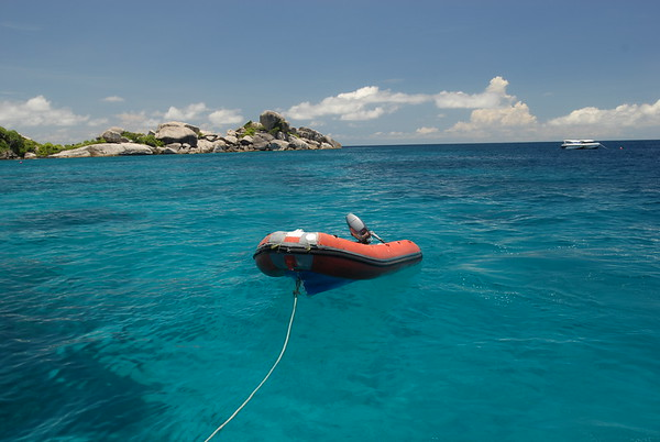 Topside in the Similan Islands, Andaman Sea (Thailand)