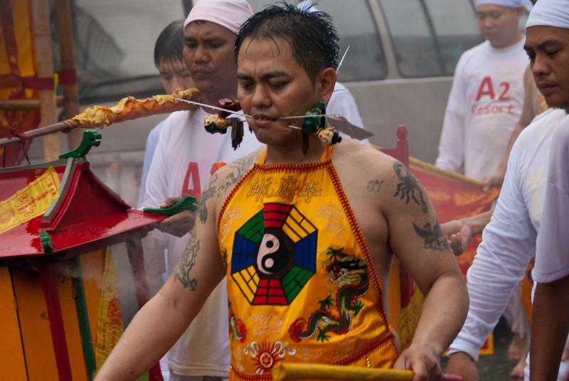 Vegetarian Festival, Phuket, Thailand