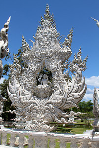 Wat Rong Khun - The White Temple - July 2011 The white temple is an impressive piece of art - it is more than just a temple.