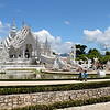Chiang Rai - The White Temple : The white temple is an impressive piece of art