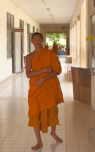 Young Monk at school