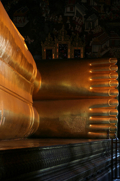 Feet of the Buddha, Wat Pho, Bangkok.