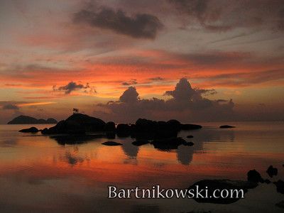 Koh Phangan, Thailand Sunset