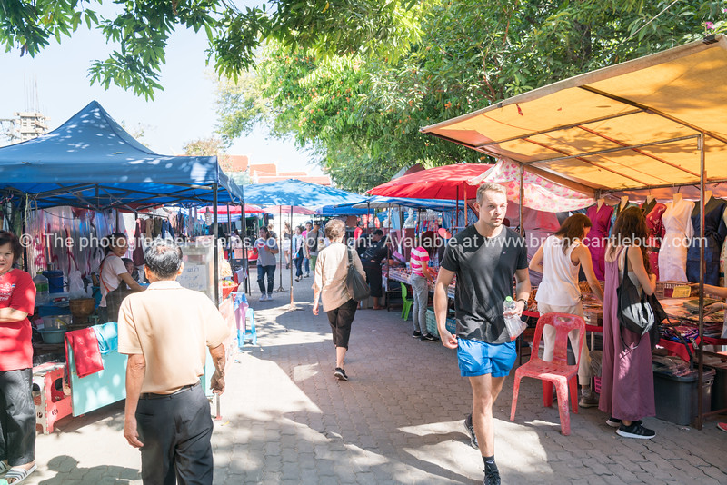 Day tourist market in Chiang Mai