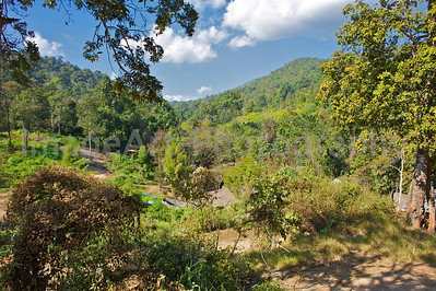Landscape of northern Thailand