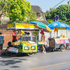 Street food carts in Chiang Mai