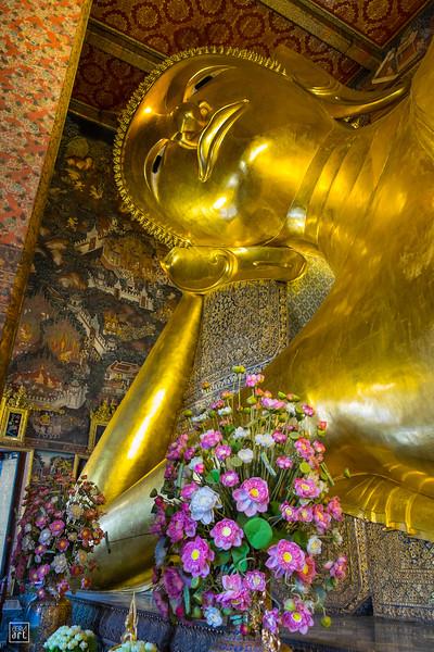 Wat Pho Temple | Reclining Buddha