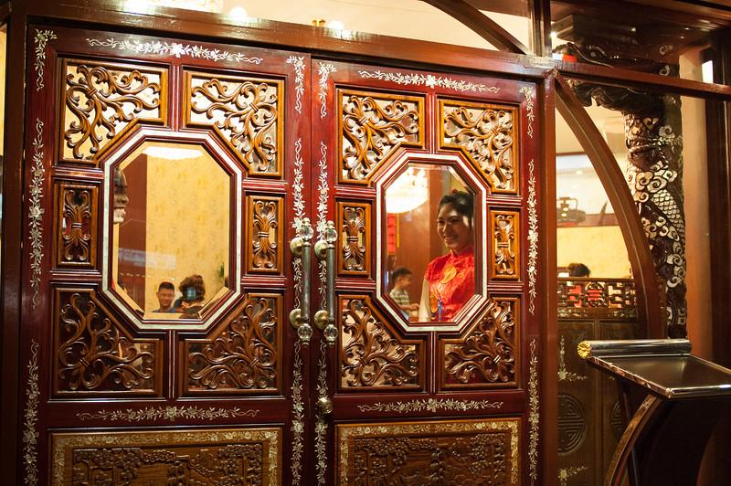 Chinese restaurant in Chinatown