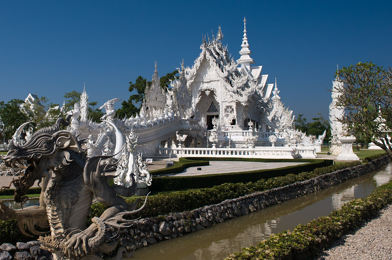 The white temple.  I thought this was going to be boring, but I was wrong.
