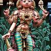 Lord Vishnu, Sri Mariamman Temple, Silom Road, Bangkok.