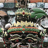 Head of a guardian figure, Wat Arun, Bangkok.