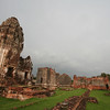 Ruins of Wat Phra Si Ratana Mahathat, in the town of Lopburi, about 150km north of Bangkok. The sprawling temple complex is built in the Khmer style and dates to the 12th century.