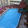 The pool on the roof