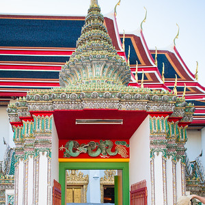 Wat Pho ( Temple of the Reclining Buddha)