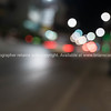 Bokeh street and vehicle lights abstract