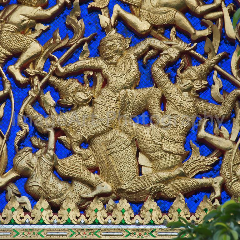 Thai Temple Decoration