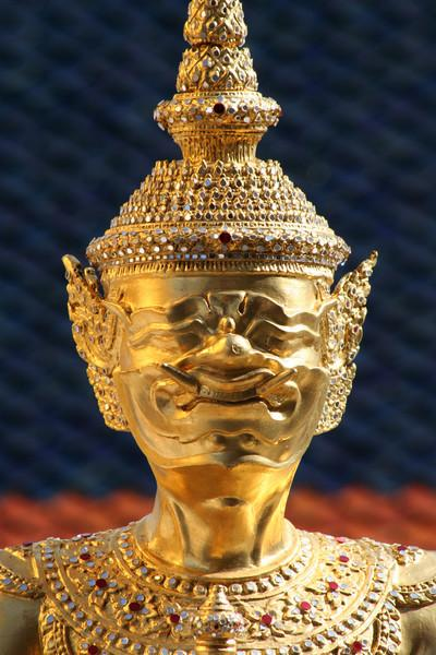 Guardian figure, Wat Phra Kaew, Bangkok.