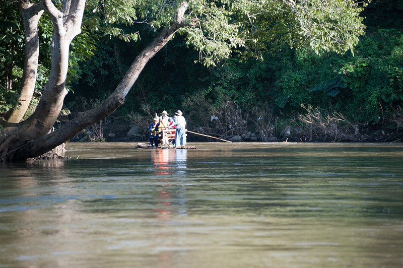 A raft trip around the area.