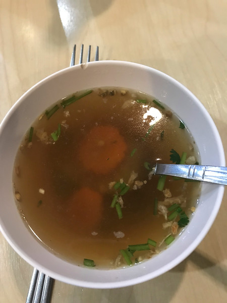 Japanese miso soup in Thailand