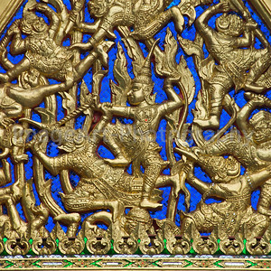 Thai Temple Decoration