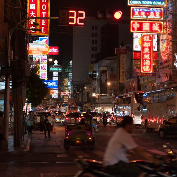 Bangkok has a huge Chinatown district