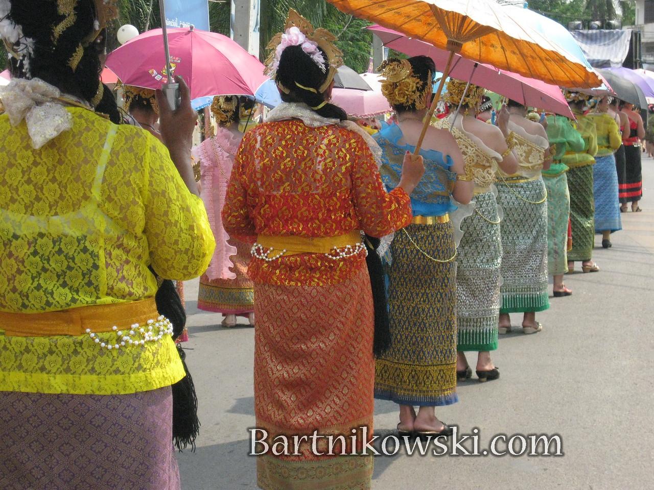 Parade in Loei Thailand