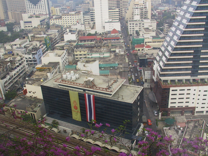 View from the Landmark Hotel