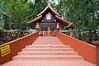 One of the buildings of Wat Umong, a forest temple on the outskirts of Chiang Mai. Monks live off of the people, relying on them for food and funding.