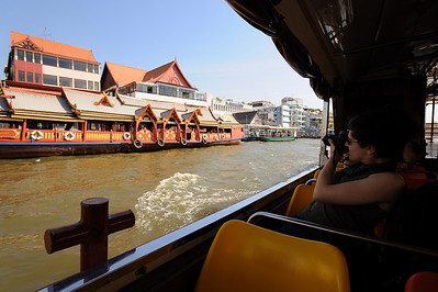 On Chao Phraya River, Bangkok, Thailand